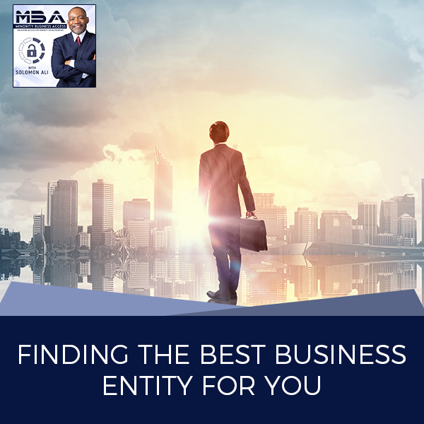 MBA 24 | Business Entities