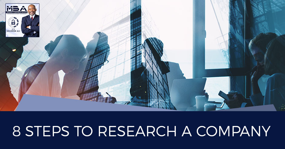 MBA 45 | Research A Company