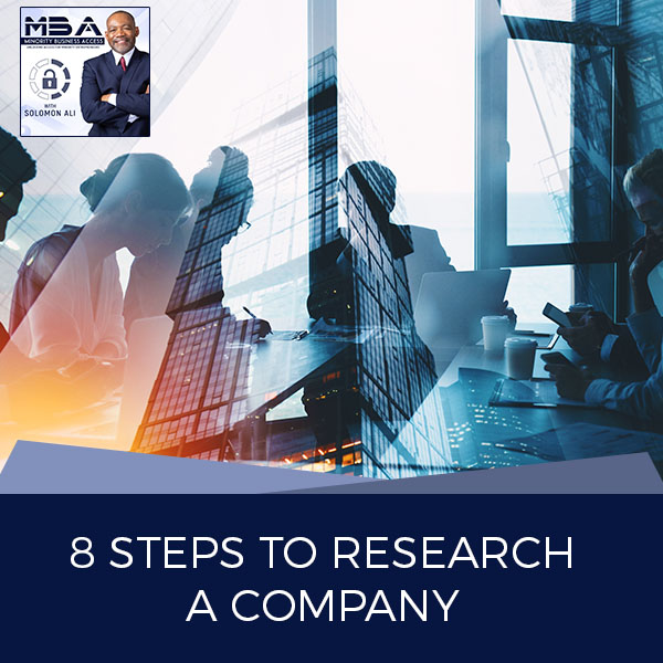 8 Steps To Research A Company